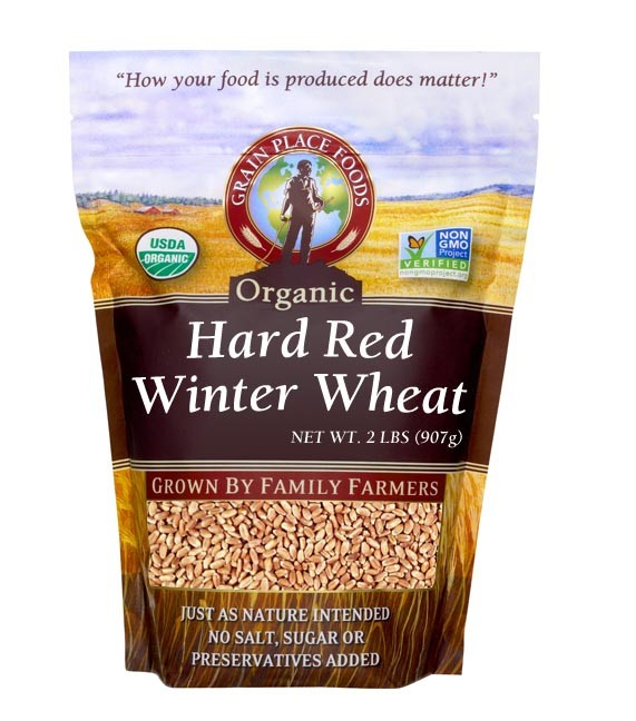 organic hard red wheat grain place foods