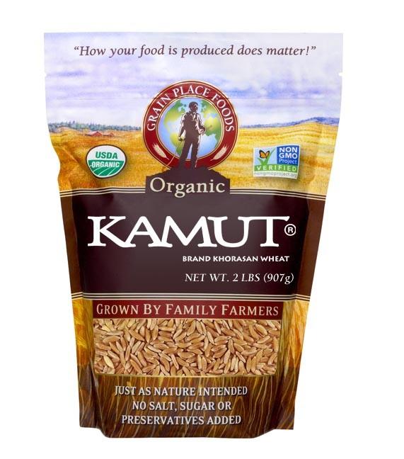organic kamut khorasan wheat grain place foods